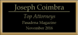 Top Attorneys Pasadena Magazine 2016